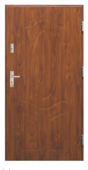 Vchodové dveře dvoukřídlé Bianka 1