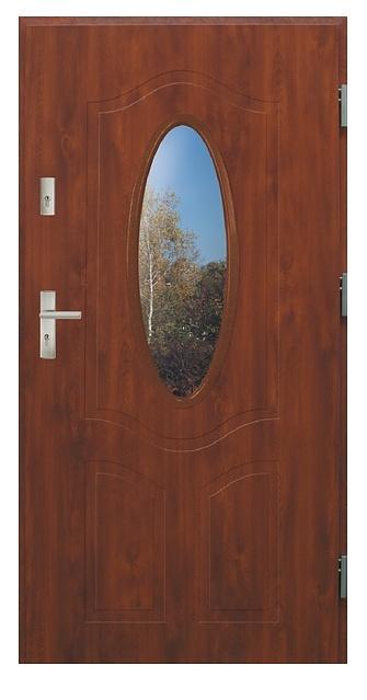 Vchodové dveře dvoukřídlé Bianka 2