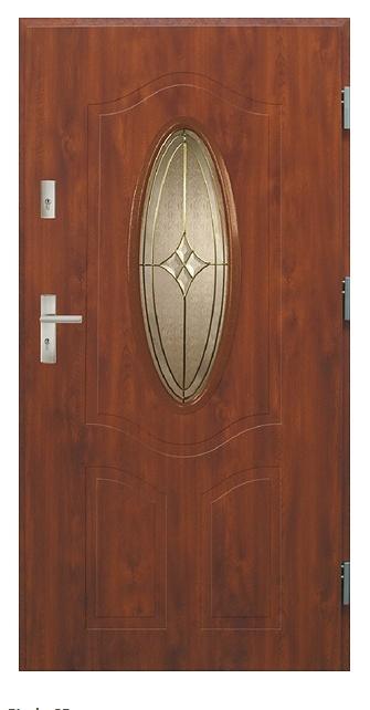 Vchodové dveře dvoukřídlé Bianka 2b