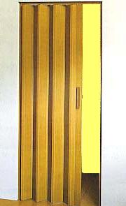 Shrnovací dveře plastové do 245x200cm