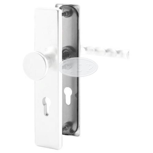 Bezpečnostní kování London 92x8 klika / koule kulatá bílá