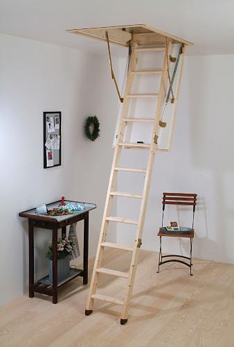 Půdní schody,Termo,do 283 cm, otvor 120x60