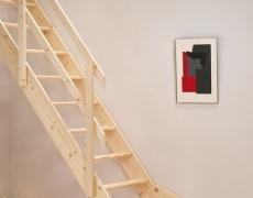 Dřevěné schody,mlynářské schody,Normandia rovné