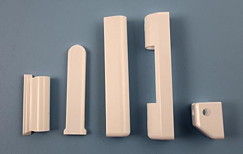 Krytka na okenní kování Roto NT bílá