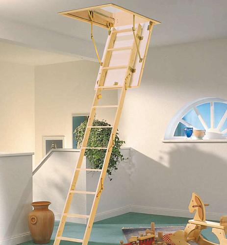Půdní schody MINI,do 260 cm,otvor 87,5x70