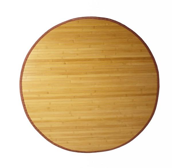 Bambusový koberec kulatý průměr 180cm