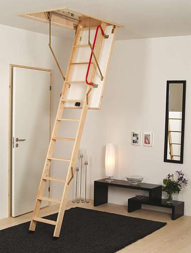 Půdní schody, EXTRA,do 285 cm,otvor 130x60
