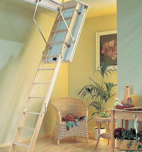 Půdní schody PROFI do 288 cm otvor 140x70