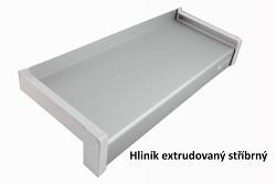 venkovní parapet hliník extrudovaný